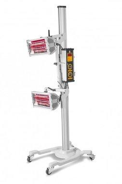 Essiccatore di vernice a infrarossi con 2 lampade