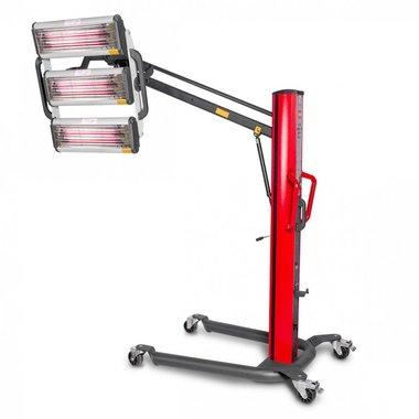 Essiccatore di vernice a infrarossi con 3 lampade
