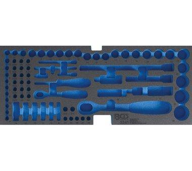 Cassetta degli attrezzi FOAM per il n art 3312, vuoto: per il set di tappi