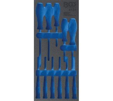 Cassetto portautensili 1/3, vuoto Set di cacciaviti 11 parti