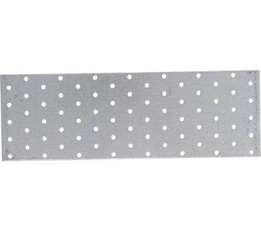 Piastra in acciaio con fori 300 x 100 mm