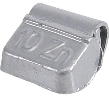 Peso ruota cerchioni 10 g 100 pezzi