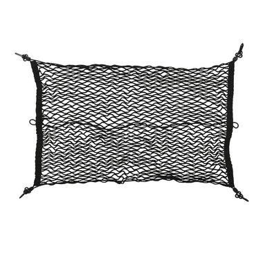 Rete portabagagli elastica 80x50cm con ganci in plastica NS-3