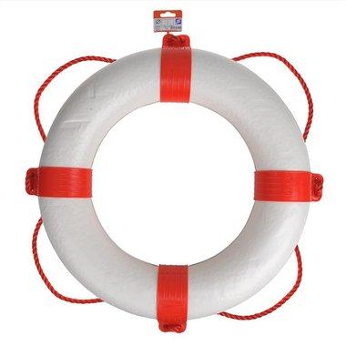 Salvagente di salvataggio diametro 550mm, bianco - rosso