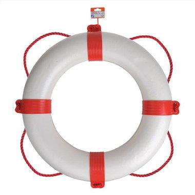 Salvagente di salvataggio diametro 600mm, bianco - rosso