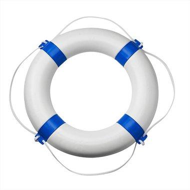 Salvagente di salvataggio diametro 600mm, bianco - blu