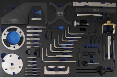 Tabella 3/3: Kit di strumenti per la fasatura del motore per Ford, VW, Seat, Mazda, Volvo