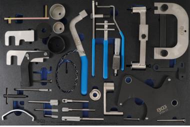 Tabella 3/3: Kit di strumenti per la fasatura del motore per Renault, Nissan, Opel, Volvo