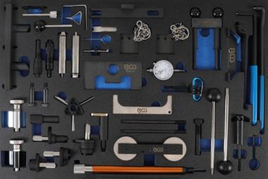 Magazzino utensili 3/3: Kit attrezzi per la fasatura del motore per Ford, VAG, Mazda, Volvo