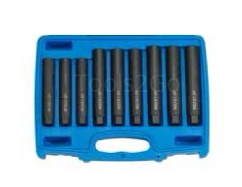 Set perni perno manicotto centrale 9pc