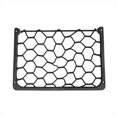 Rete portaoggetti elastica 31x21cm con telaio in plastica NS-10