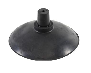 Piastra di aspirazione diametro 130 mm per BGS 8460