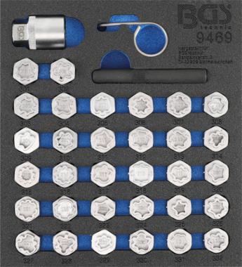 set di utensili per bulloni di sicurezza per Mercedes-Benz 35 pz