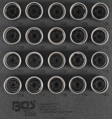 Set di tappi per Opel, Vauxhall (Versione A) 20 pezzi