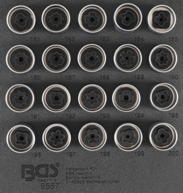 Set di tappi per Opel, Vauxhall (Versione B) 20 pezzi