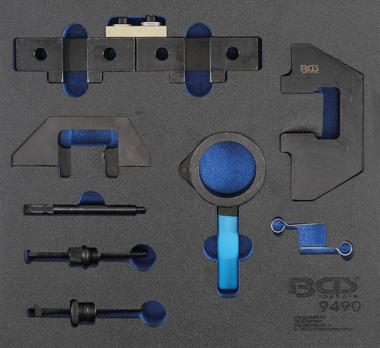 Modulo utensili 2/3: kit di regolazione motore per BMW M42, M43, M50, M50, M52, M60, M51