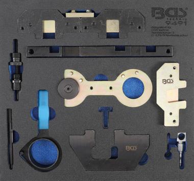 Modulo utensili 2/3: kit di regolazione motore per BMW M40, M44, M50, M50, M52, M54, M56