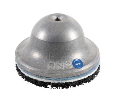 Smerigliatrice mozzo ruota campana in alluminio con anima in acciaio 80 mm