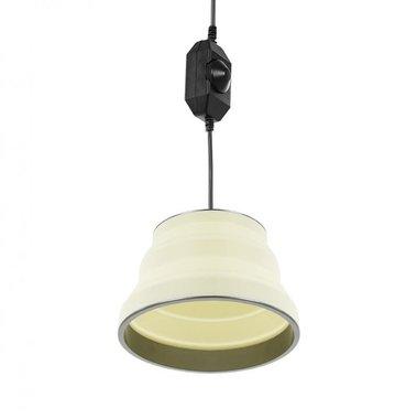 Appendiabiti a LED pieghevole in silicone bianco 15cm