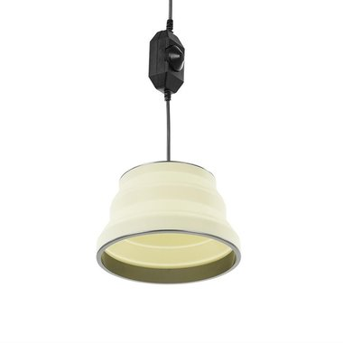 Appendiabiti a LED pieghevole in silicone bianco 20cm