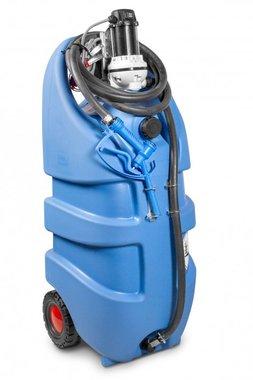 Serbatoio adblue blu 110 litri, pompa 12v