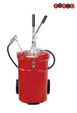 Pompa per grasso manuale con ruote