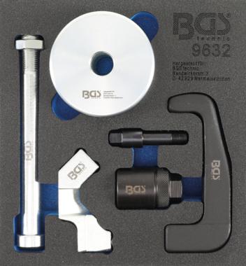 Estrattore per iniettori per iniettori Bosch CDI 6 pz