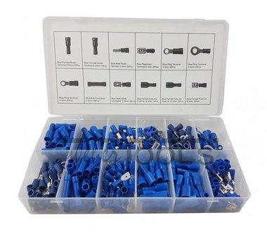 Connettori per cavi blu 280 pezzi