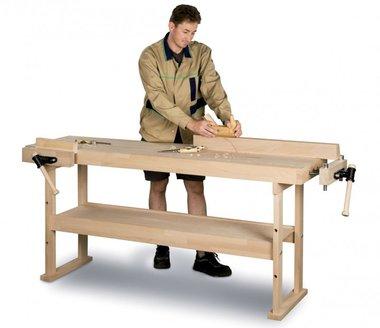 Banco da lavoro in legno 1340x500 mm