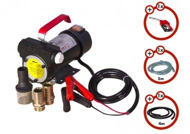 Set pompa diesel 12v, pistola, tubo flessibile, frizione
