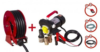 Pompa diesel 24V  aspo  set pompa