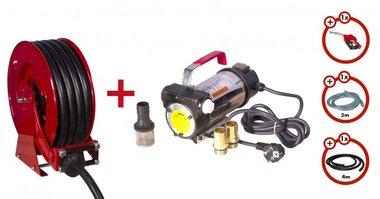 Pompa diesel 230 V  ugello a rollope  set pompa