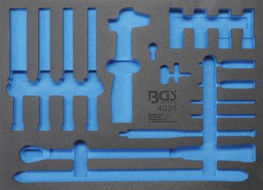 Modulo utensile 3/3 vuoto per BGS 4035