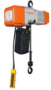 Paranco elettrico a catena 1 tonnellata, 661x276x460mm