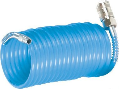 Tubo aria a spirale standard 7,5 metri - 8 bar