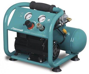 Compressore a bassa rumorosita senza olio 10 bar, 4 litri