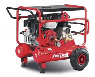 Compressore mobile a benzina 10 bar - 2x10 litri