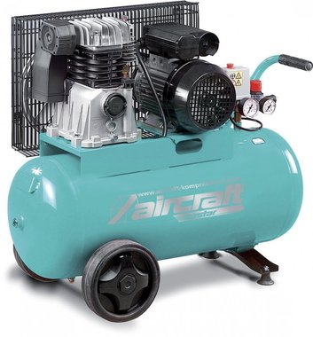 Compressore a cinghia 2 cil. 10 bar - 50 litri
