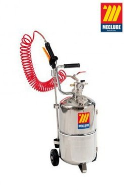 Irroratrice a ruote in acciaio inox 24 litri
