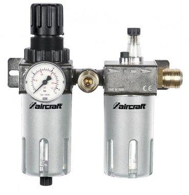 Filtro/regolatore di pressione + serbatoio olio 1/2