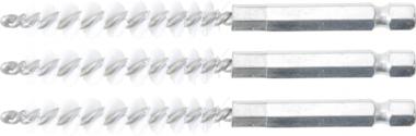 Disco spazzola  8 mm  6,3 mm (1/4)  3 pz