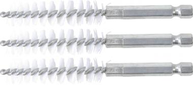 Disco spazzola  13 mm  6,3 mm (1/4)  3 pz