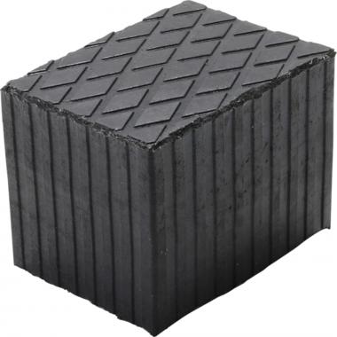 Cuscinetto in gomma per piattaforme di  160 x 120mm