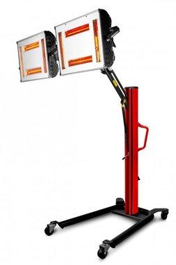 Essiccatore di vernice a infrarossi con 8 lampade