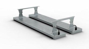 Staffa a soffitto 400x1,5x103,5mm per MO9818