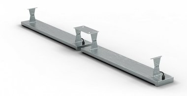 Staffa a soffitto 396x1,5x1,5x120mm per MO9818