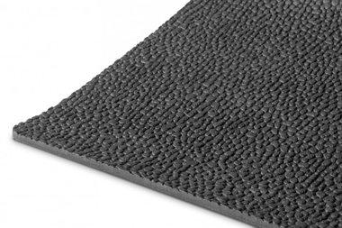 Gomma per metro lineare 1mx1200mmx3mm chicco di riso nero