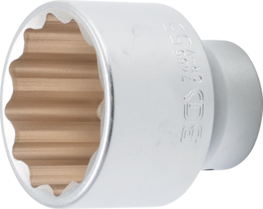 Chiave a tubo 12 lati 20 mm (3/4) 55 mm