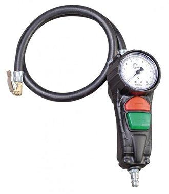 Soffiante per pneumatici con due pulsanti