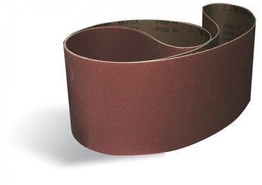 Nastri abrasivi metallo / legno 75x1180mm x10 pezzi